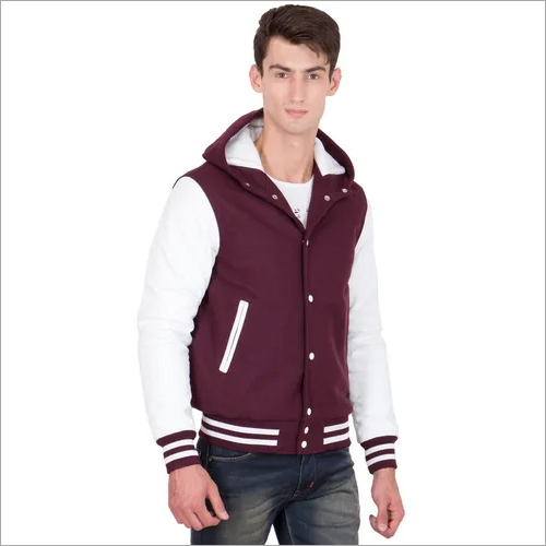 Hooded Varsity Jacket