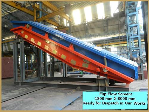 Flip Flop Vibrating Screen