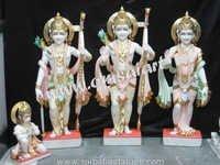 Ramdarbar Statues