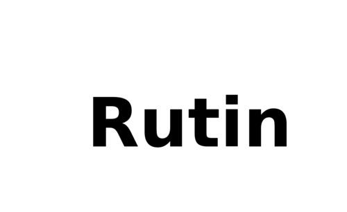 Rutin Chemicals