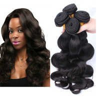 Non Remy Weft Human Hair