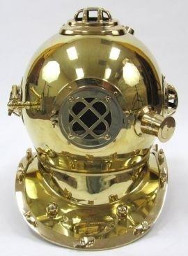 Divers Helmet Mark V Special Edition Brass