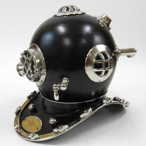 Divers Helmet Mark V (Black)