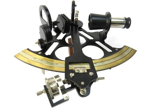 Brass Micrometer Nautical Sextant