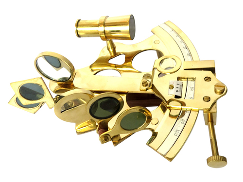 Solid Brass Sextant without Box