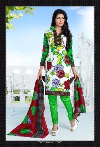 Unstitched Cotton Salwar Kameez Materials