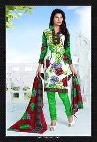 Unstitched Cotton Salwar Kameez Materials
