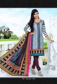 Senorita Unstitched Cotton Salwar Kameez