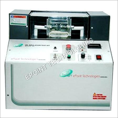 Semi Automatic Oil Insulation Test Kit