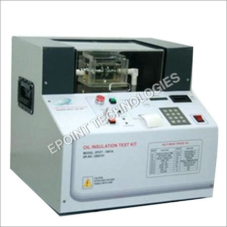Automatic Oil Insulation Test Kit