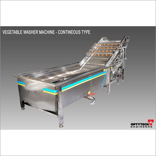Vegetable Continuous Type Washer Machine