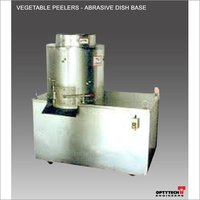 Vegetable Peelers - Abrasive Dish Base