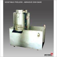 Vegetable Peelers - Abrasive Dish Base