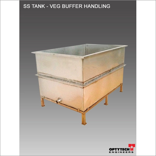 Vegetable Washing SS Tank