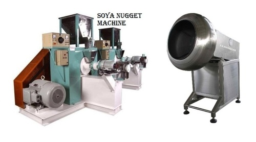 SOYA BADE CHUNKES MAKING MACHINE