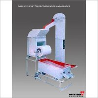 Garlic Elevator Decorticator And Grader