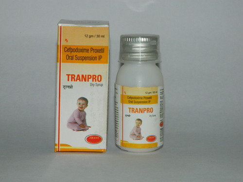 Tranpro Dry Syrup