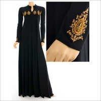 Golden Paisley Abaya