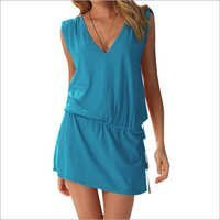 Ladies Beach Dress Cover Up Kaftan Sarong
