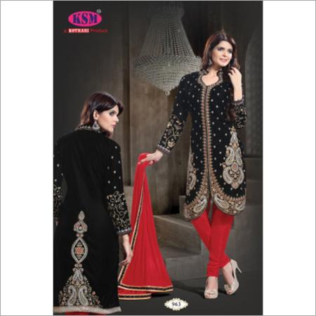 Bridal Velvet Salwar Suit