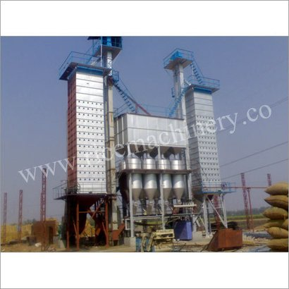 Semi-Automatic Paddy Steaming Plant