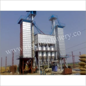 Paddy Steaming Plant