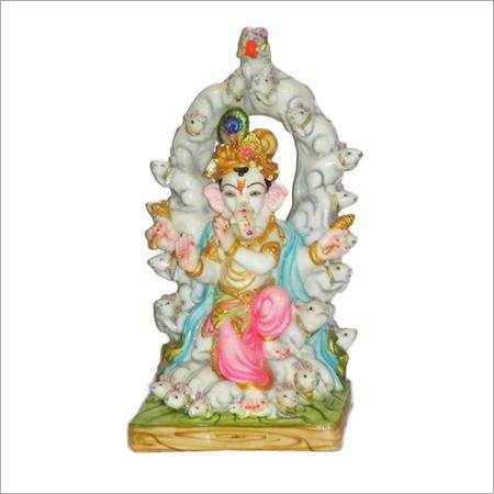 White Polyresin God Statues
