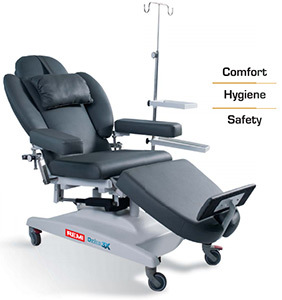 Hemodialysis Chair / Chemotherapy Chair / Therapeutic Chairs