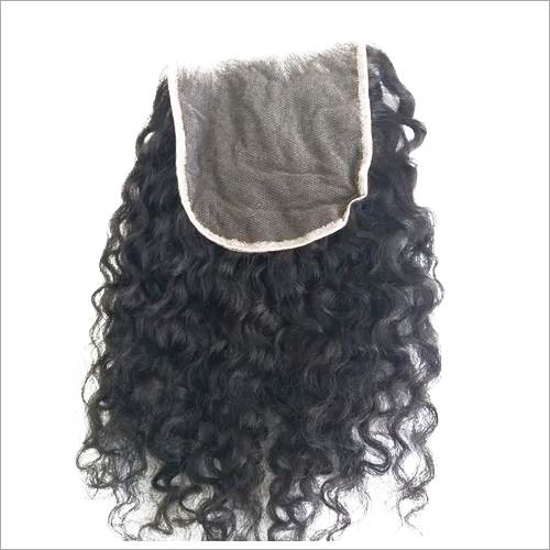 Raw curly HD Lace closure