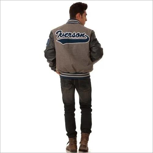 High school varsity jacket