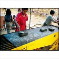 Concrete Flooring Tile Or Paving Block Making Machine