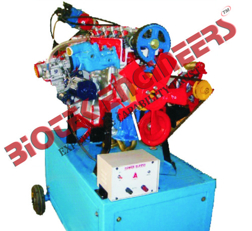 4 Stroke Petrol Actual Cut Section Engine