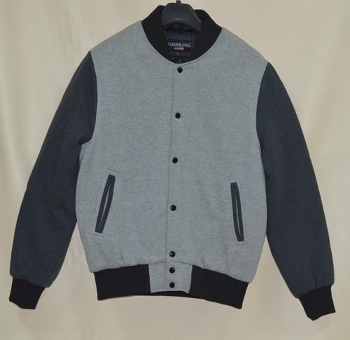 Light Weight Fleece Varsity Jacket