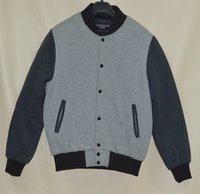 Light Weight Fleece Varsity Jacket