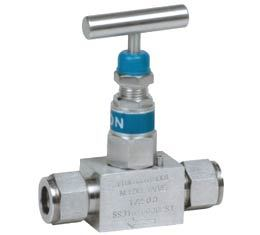 NEEDLE VALVES SCREWED BONNET DESIGN DOUBLE FERRULE