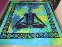 MULTI COLOURS CHAKRA BUDDHA TAPESTRY