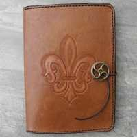 Customized Leather folders & book covers