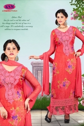 Digital Embroidery Suit