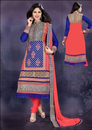 Embroidered Indian Suits (Senorita)
