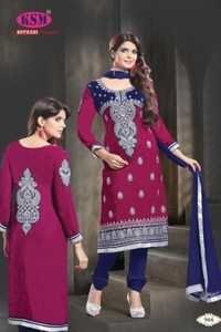 Designer Valvet  Churidar Suits