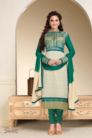 Straight Salwar Suit