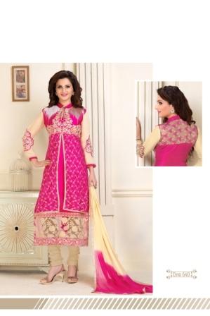 Fancy Exclusive Pink Salwar Suit