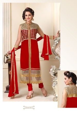 Embroidered Salwar Suit