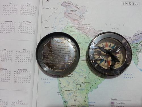 Black Boot Polish Compass