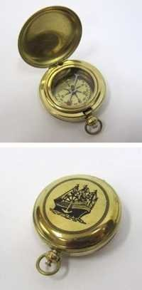 Solid Brass Dalvey Compass Ship Design