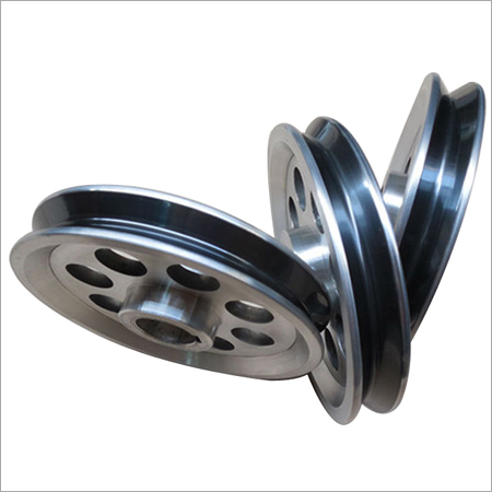 Ceramic Coated V Pulleys