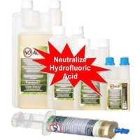 Neutralizes Dangerous Hydrofluoric Acid