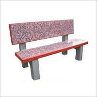 Rectangular Bench with Back Rest