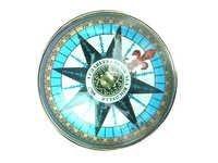 Aluminum Flat Desktop Compass