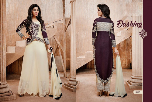 Beautiful multicolor Patiyala salwar kameez